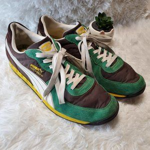 Puma Easy Rider 3 Yellow/Green Sneakers Size 11.5